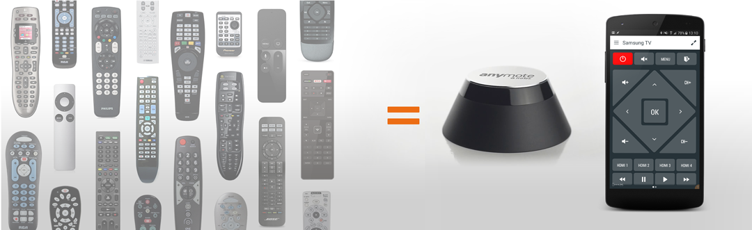 AnyMote Home – Any Device  One Remote